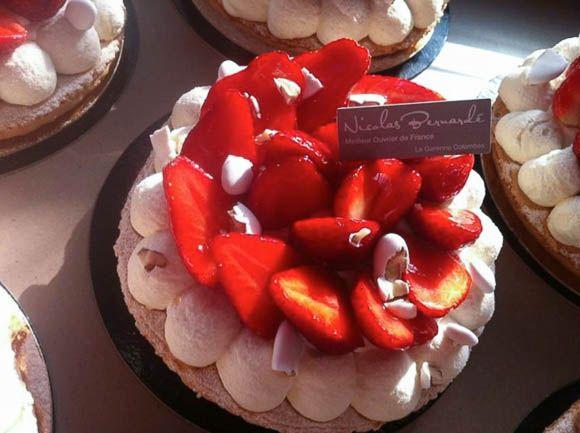 Tarte à la fraise du samedi 20 avril 2013