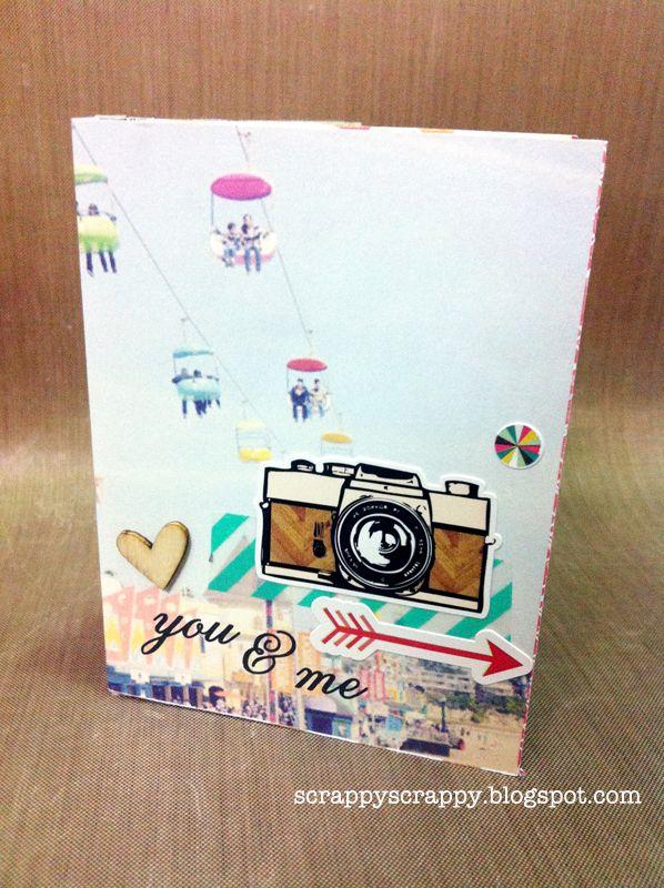 ScrappyScrappy: Valentine mini album & Giveaway!