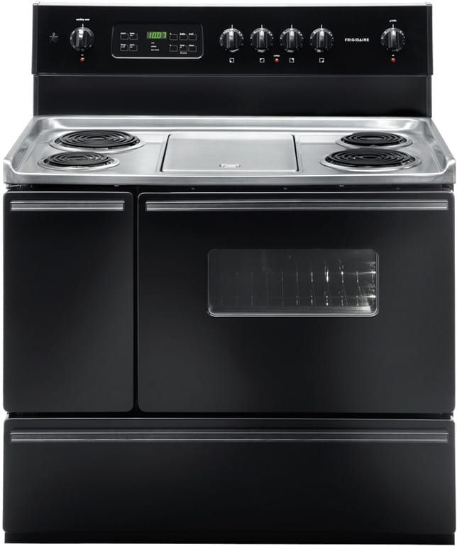 Frigidaire Ffef4017lb 40 Inch Freestanding Electric Range With 4
