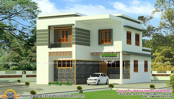 Kerala Home Design And Floor Plans Modern House Designs Kerala House Design House Design Modern House Design