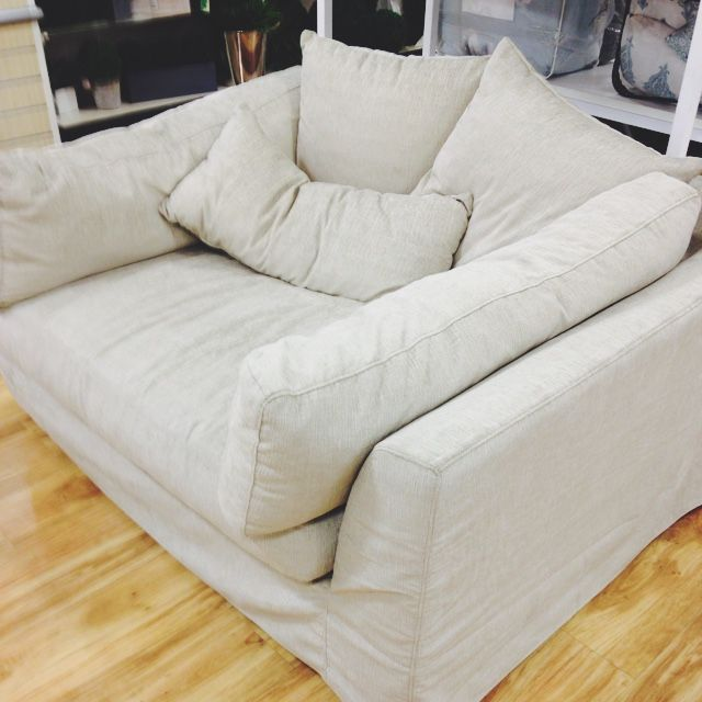 oversized comfy living room chair Couch HomeGoods oversized chair …   Home Sweet Home   Home Decor, Home, Home furnishings