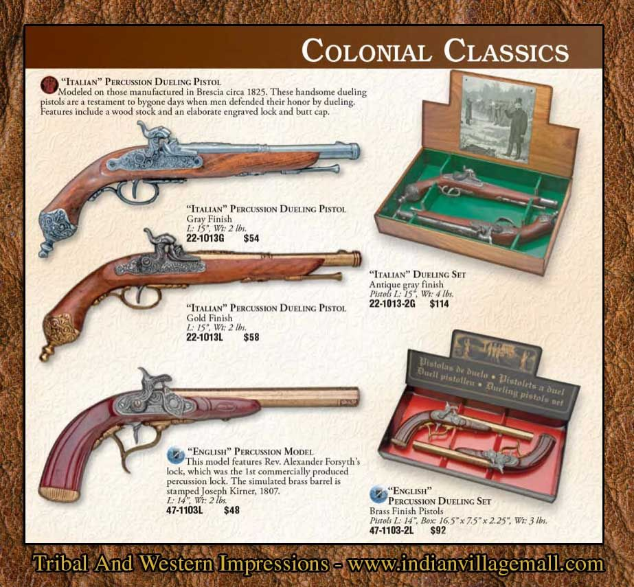 The Tribal And Western Impressions Colonial Collection