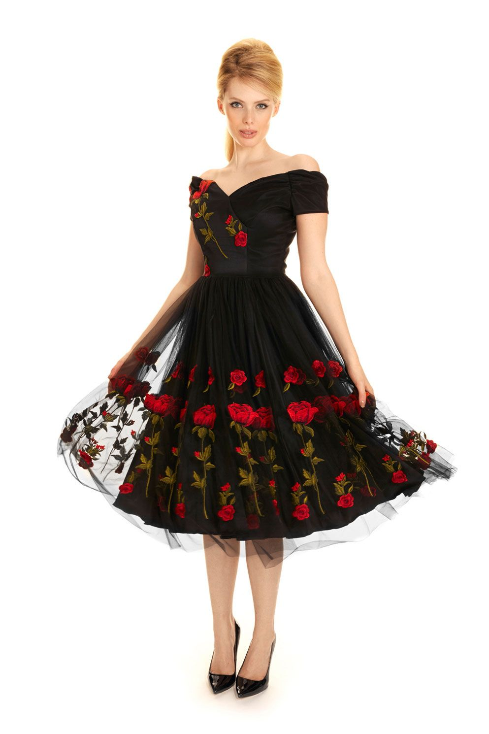 Fatale Embroidered Prom Dress Pretty Dresses Dresses Colorful Dresses [ 1490 x 993 Pixel ]