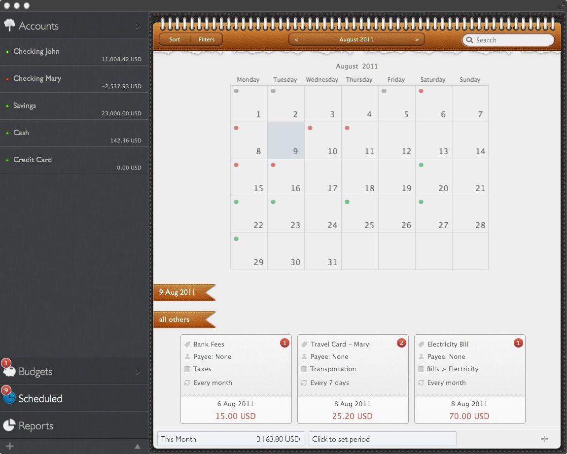 MoneyWiz Personal Finance for Mac Finance tips, Finance