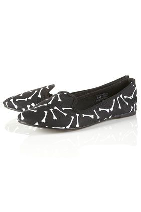 Topshop Bone Slipper Pumps
