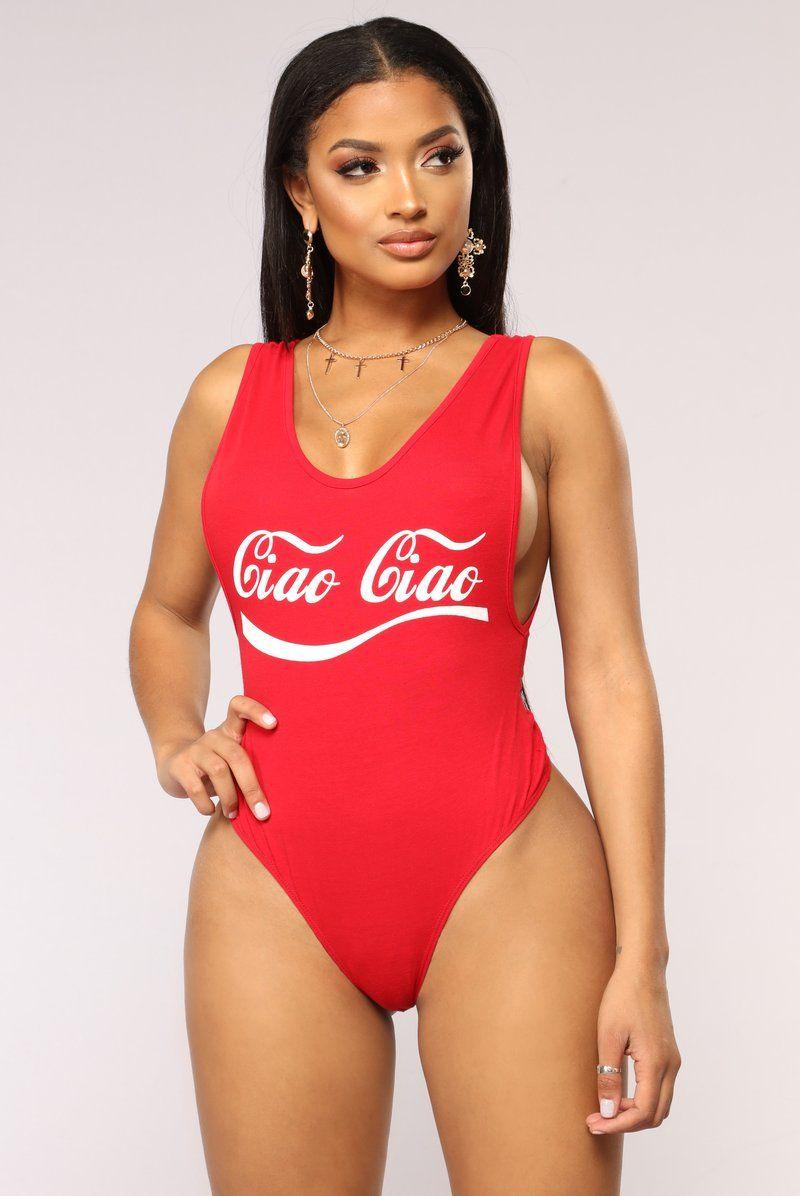 6dc1ca493d46 Body Ciao Ciao - Rojo | fashion nova en 2019 | Chicas, Chicas ...