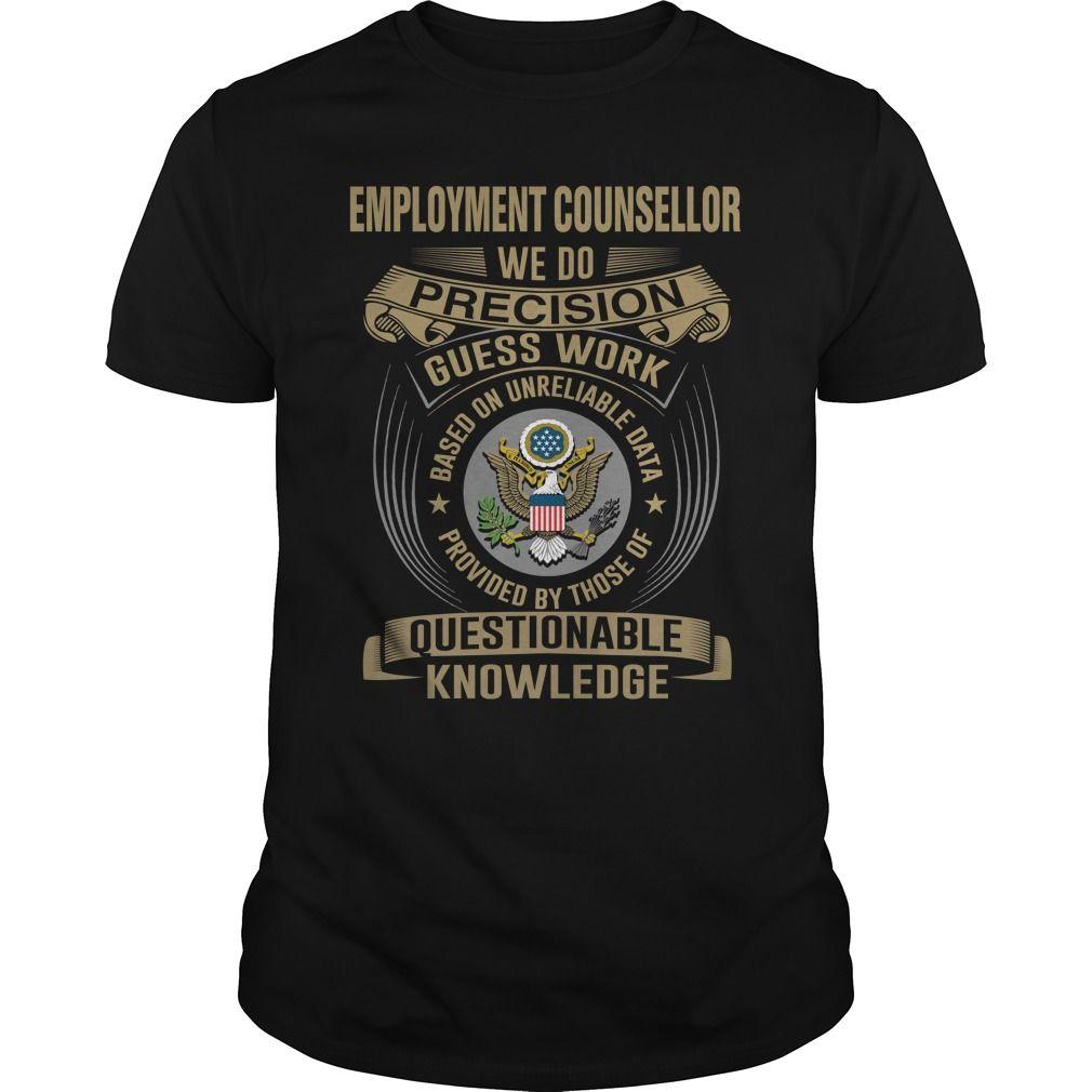 (Tshirt Choice)  EMPLOYMENT COUNSELLOR-WE DO  Shirt design 2016