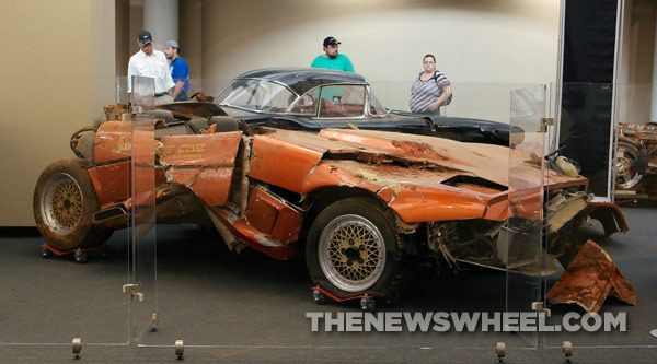 Five Corvettes Will Be Left Damaged At Corvette Museum Corvette