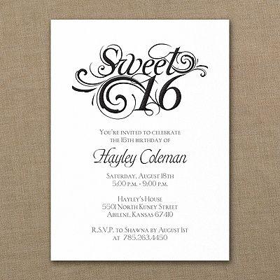 Sweetest sixteen birthday invitation tarjetas de boda pinterest sweetest sixteen birthday invitation stopboris Choice Image