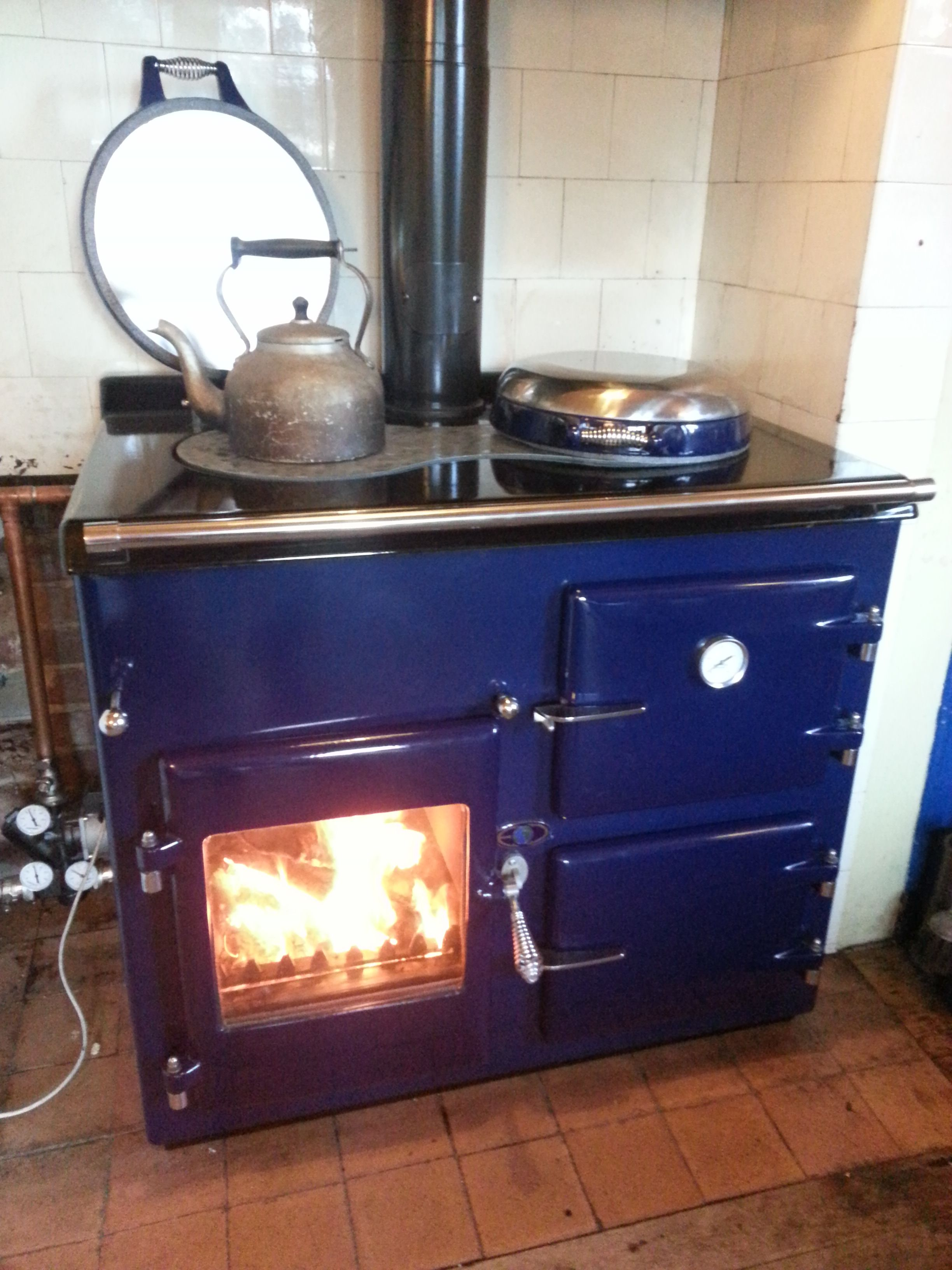 Cast Iron Kitchen Stove How To Clean Tiles Walls Aga Rayburn Wood Burning Range For The Home Pinterest