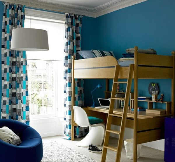Bedroom Ideas For Young Adults: 30 Cool And Contemporary Boys Bedroom Ideas In Blue