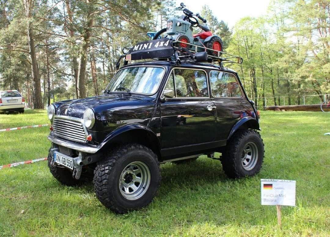 Pin By Kreyssig On 4x4 Heaven Mini Trucks Mini 4x4 Mini Clubman