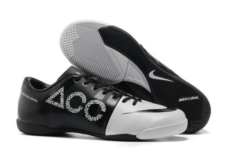 33ca2a6de Nike GS Green Speed Concept II IC ACC Mens Indoor Soccer Cleats With White  and Black