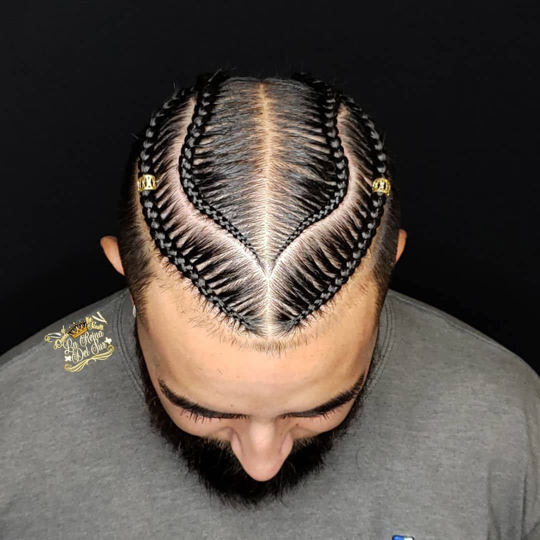 Braids For Men A Guide To All Types Of Braided Hairstyles For 2020 Mens Braids Hairstyles Hair Styles Long Hair Styles Men