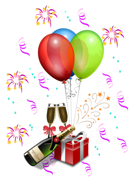 Party Decoration Transparent PNG Clipart 50th birthday