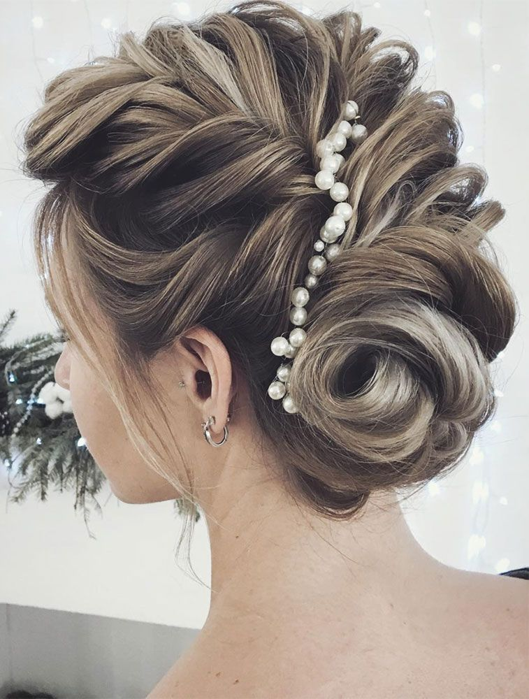 Gorgeous Updo With Hair Pin Wedding Updos Hairstyles Up Hairstyle