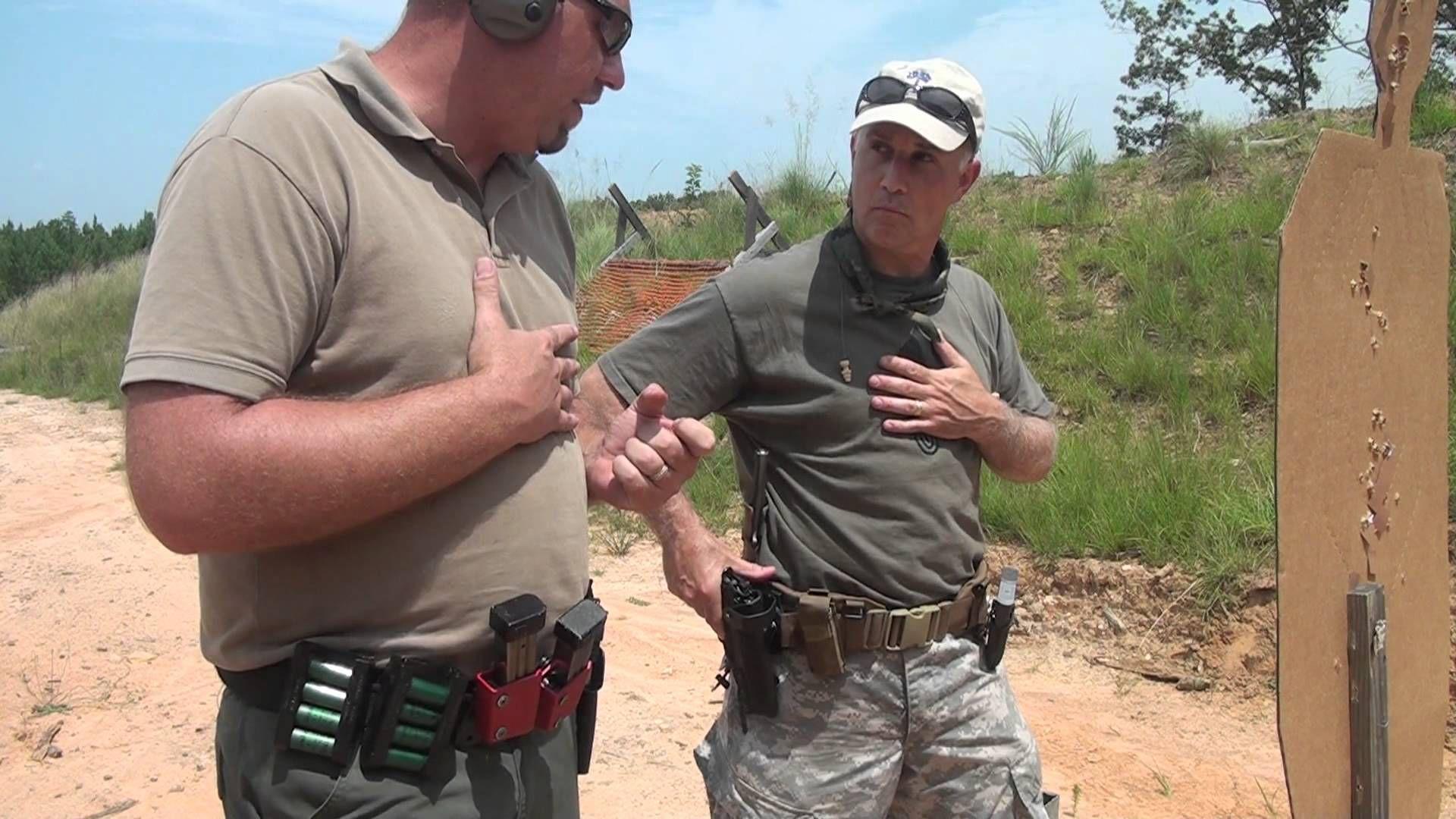 Self Defense: Shooting From Retention   GUNS   Self defense