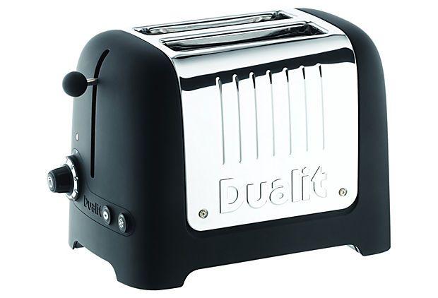 2-Slice Soft Touch Toaster, Black on OneKingsLane.com