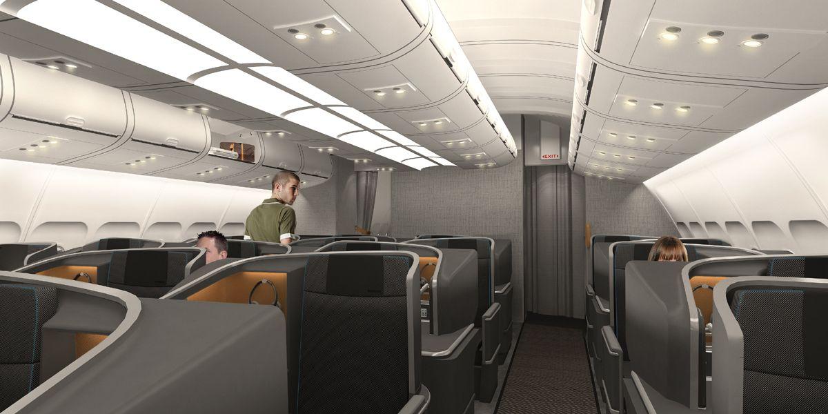 Sas Business Business Class Seats Business Class Aircraft Interiors