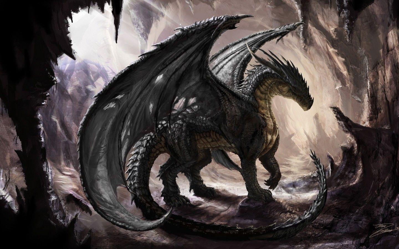 Dark Dragon Wallpaper Desktop Fantasy Dragon Dragon Artwork Fantasy Dragon Artwork