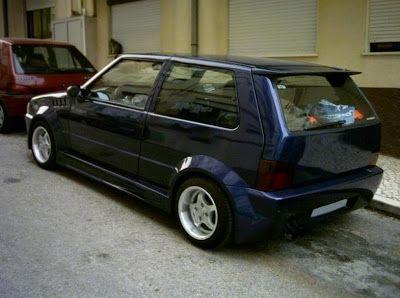 Fiat Uno Tuning Com Imagens Carros Fiat Uno Tunados
