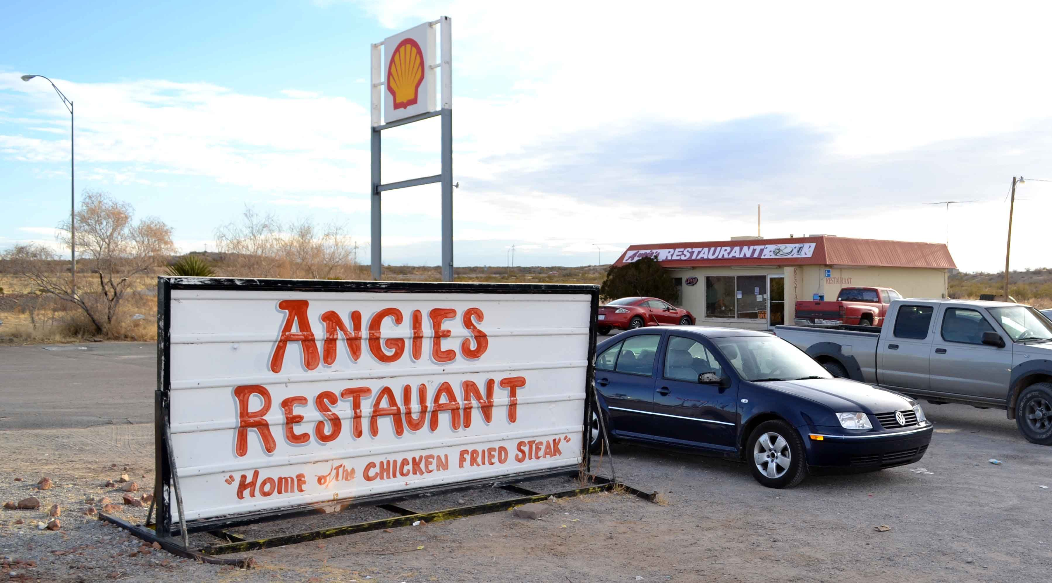 Got the Huevos Rancheros for breakfast, which I believe must be the most authentically authentic Mexican breakfast I've ever had. Angie still works there, but I was served by a waitress named Thelma who told me that Angie's Restaurant had been around for at least 30 years.