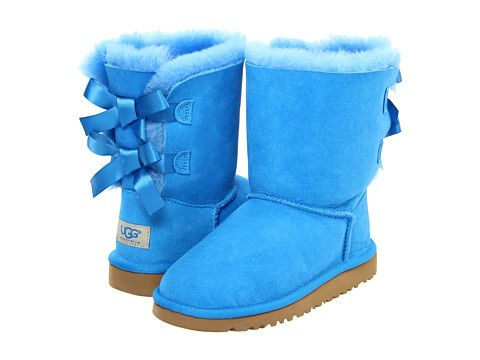e416b84c345 UGG Kids Bailey Bow (Youth) Blue Sky - Zappos.com Free Shipping BOTH ...