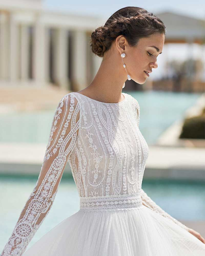 Vestidos De Novia 2021 De 35 Marcas Wedding Dress Long Sleeve Gorgeous Wedding Dress Dream Wedding Dresses