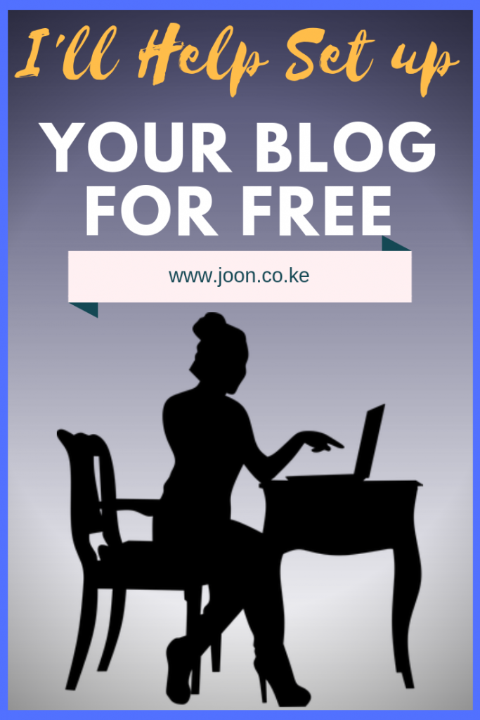 Do You Want to Start Blogging? I'll Help Set up Your Blog