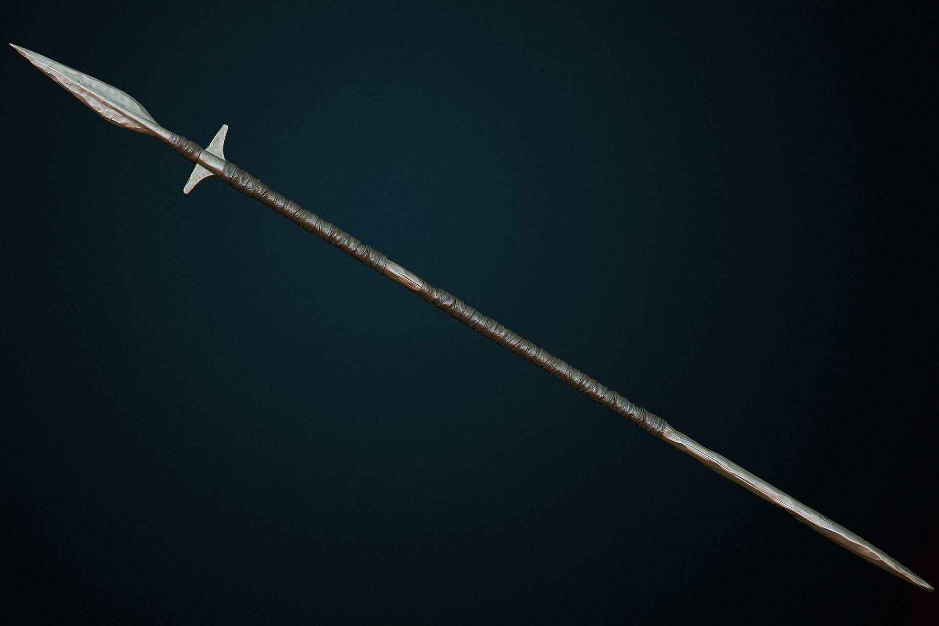 ArtStation - Medieval boar spear, Dmitrii Plotnikov (With ...
