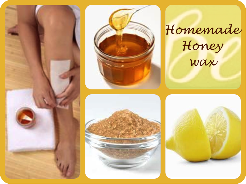 how to make homemade wax for hair removal without honey