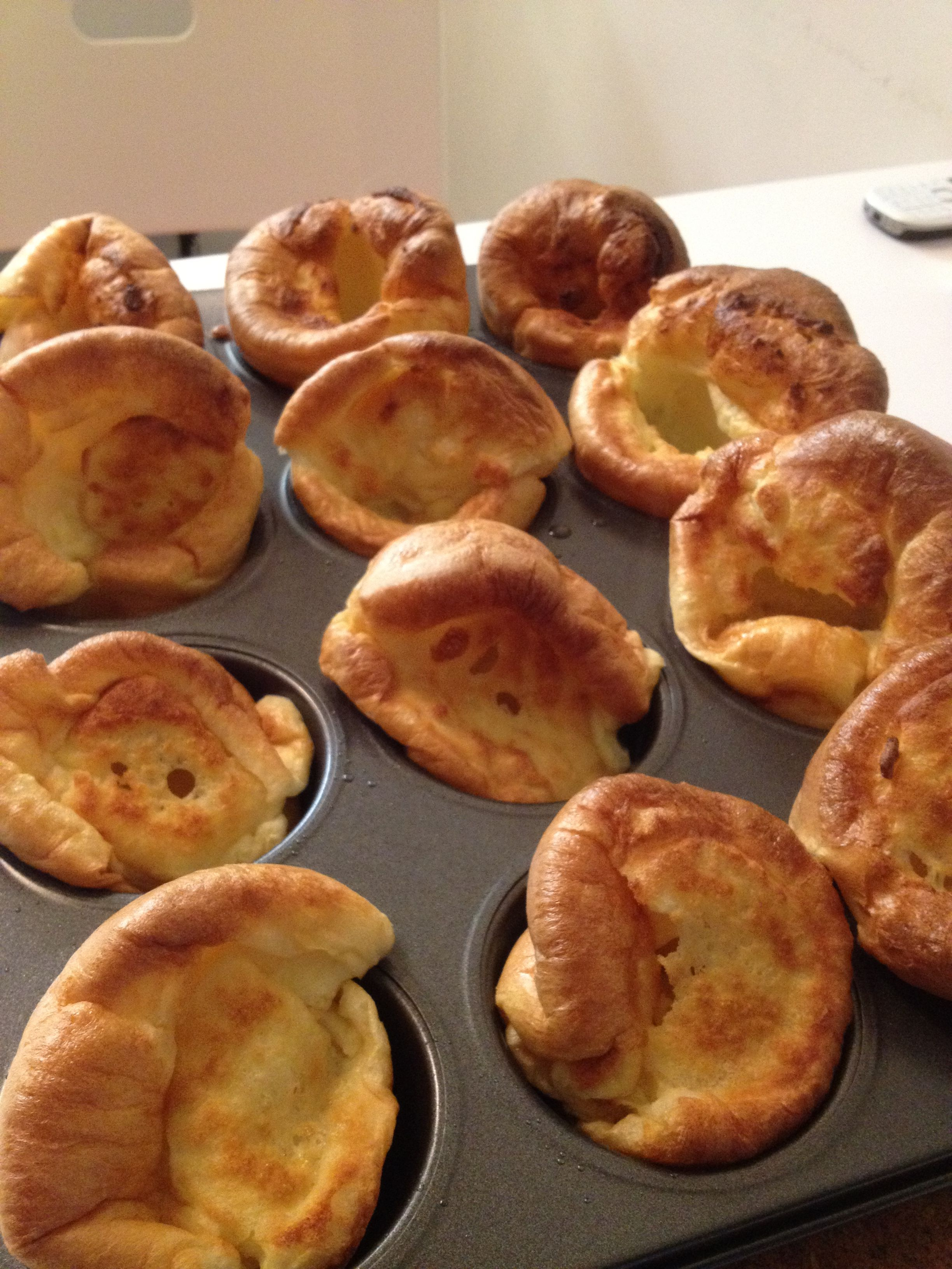 Yorkshire Pudding For 2 >> Yorkshire Pudding 1 Cup Flour 1 Cup Milk 3 Large Eggs