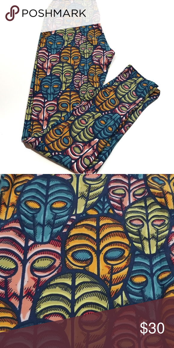 9890cbb18d8d2d LuLaRoe Disney Villains VooDoo Mask Leggings OS These gorgeous buttery soft  leggings are from LuLaRoe's Collection