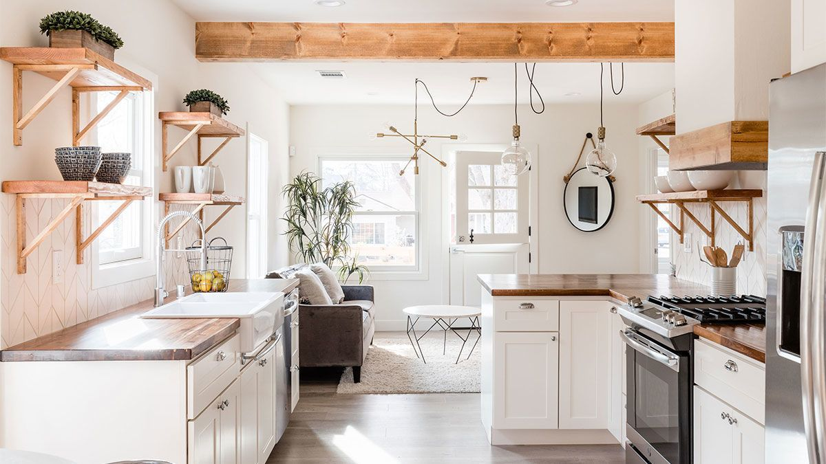Custom Kitchen Wood On White Fine Homebuilding Spotted West