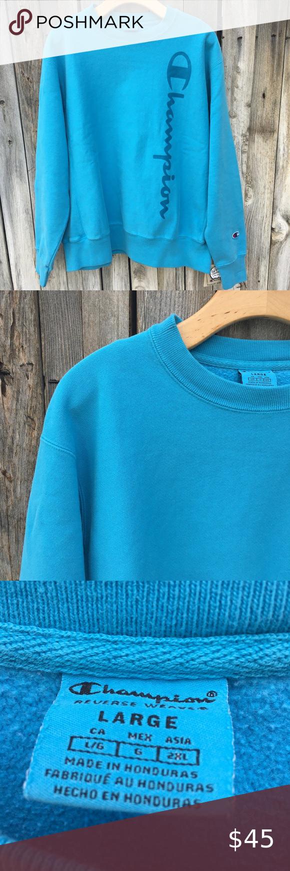 Nwt Champion Reverse Weave Crewneck Sweatshirt L Champion Reverse Weave Crew Neck Sweatshirt Clothes Design [ 1740 x 580 Pixel ]
