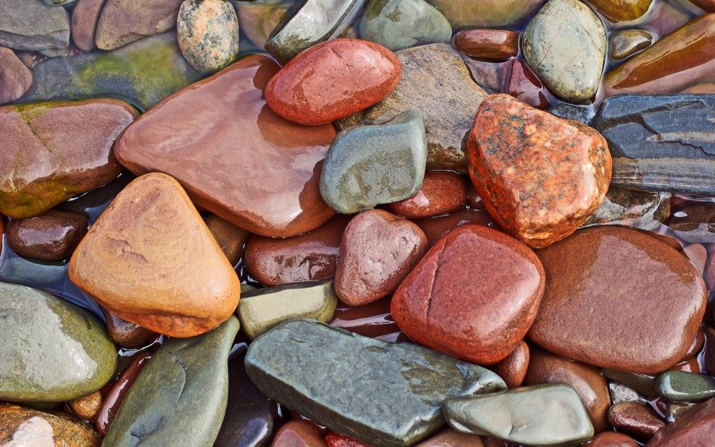 Colourful Stones............