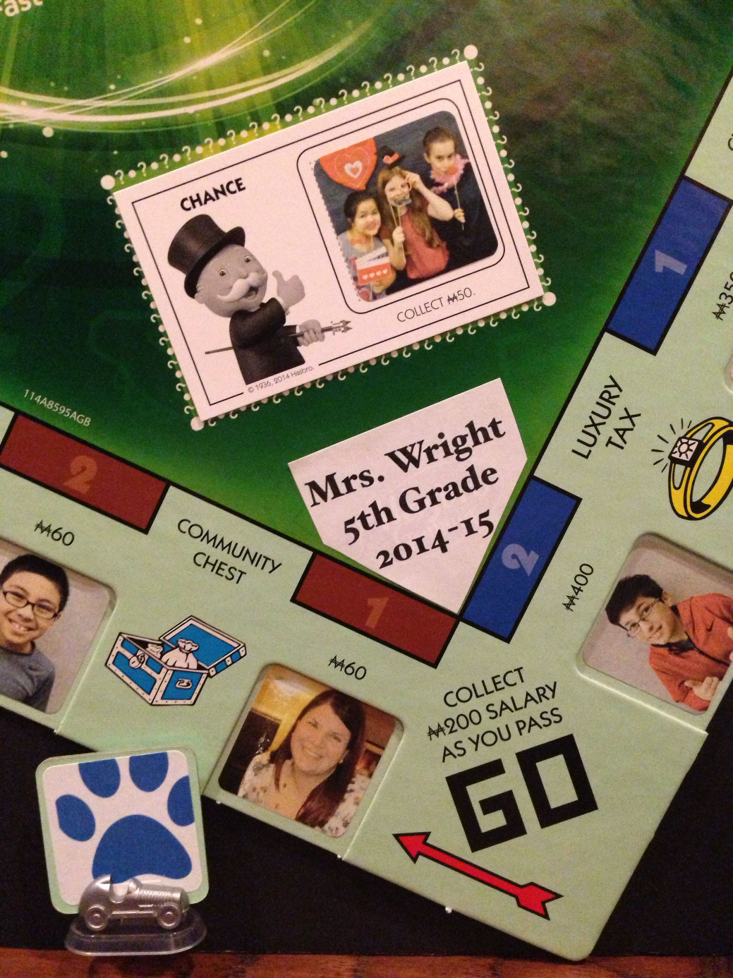 Custom Monopoly Game For Class Auction Project