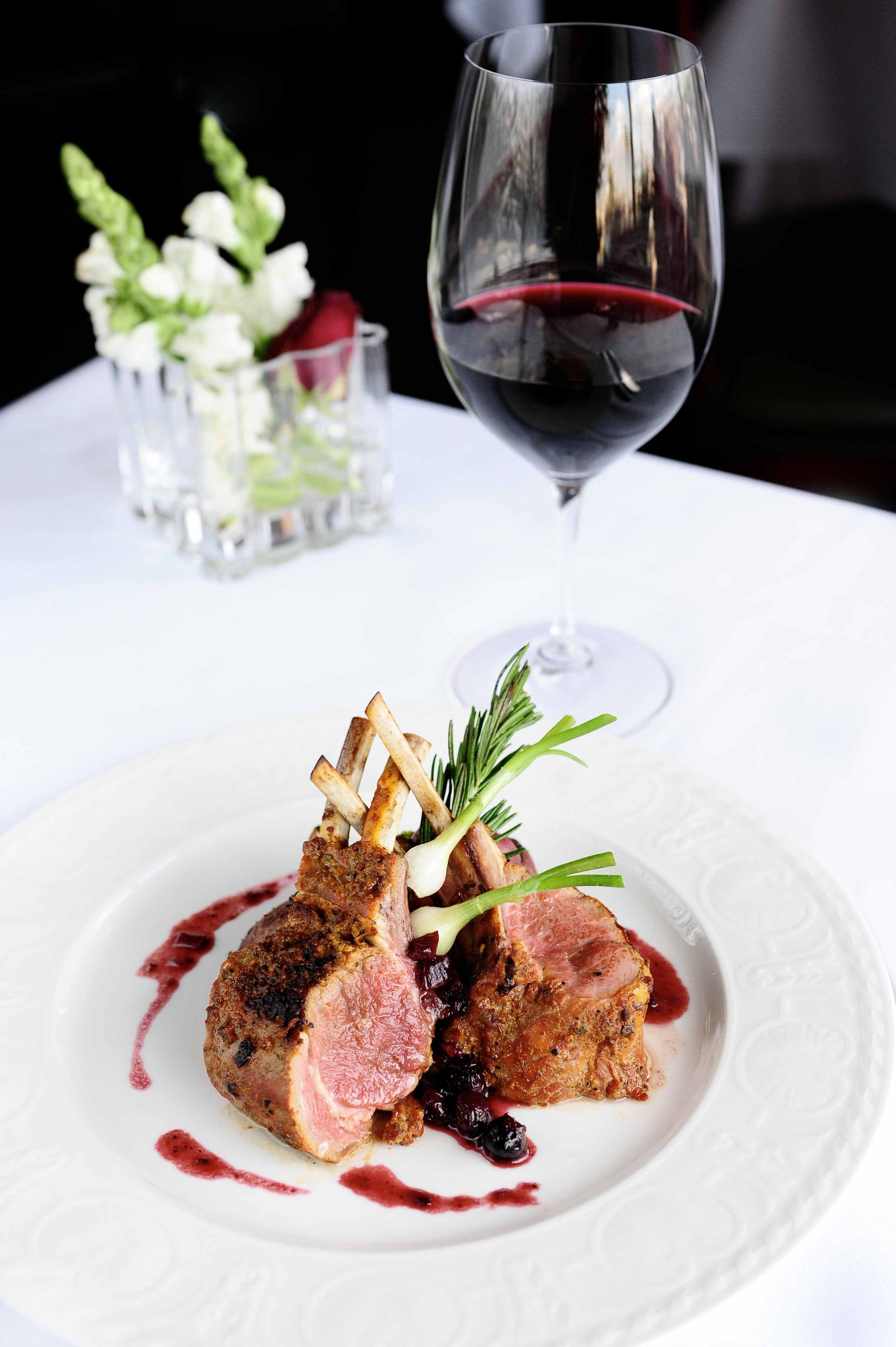 Rack of Lamb with Mixed Berry Chutney. Food PresentationSpecial ...