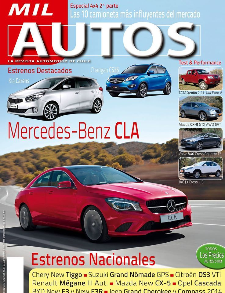 Revistas automotrices