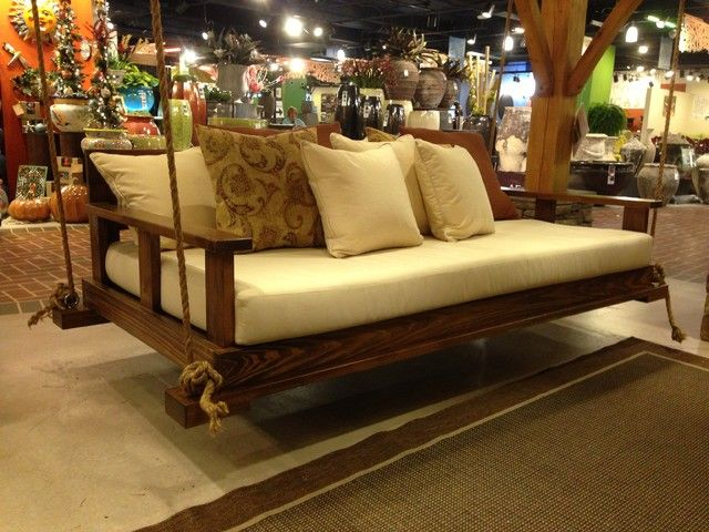 Rustic Bedswing By Southern Komfort Bedswings   Traditional   Patio  Furniture And Outdoor Furniture   Birmingham   Great Swing! Southern  Komfort Bedswings ...