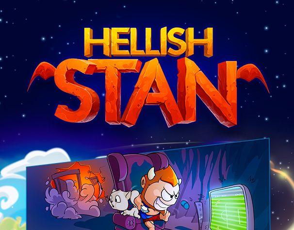 """다음 @Behance 프로젝트 확인: """"Hellish Stan - Game Art"""" https://www.behance.net/gallery/34102566/Hellish-Stan-Game-Art"""