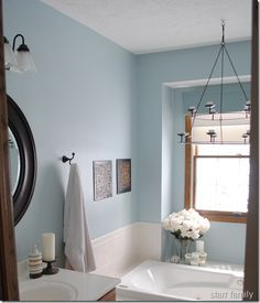Ice Blue Color For Bathroom Google Search Bathroom Colors Painting Bathroom Bathroom Paint Colors