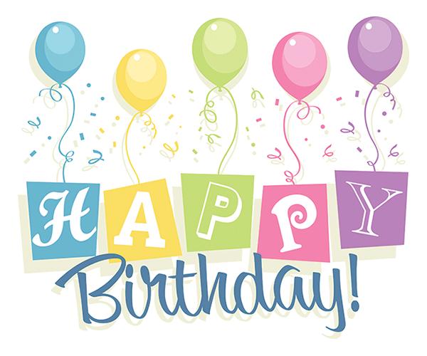 happy birthday squares happy birthday happy birthday balloons and rh pinterest com sister happy birthday clipart sisters birthday clip art free