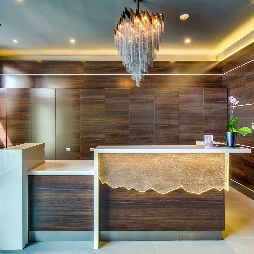New York Woodwork Worked On A Custom Cabinetry Project For The Brooklyn Hotel For This Project We Used Walnut Lamin Brooklyn Hotels Custom Cabinetry Cabinetry