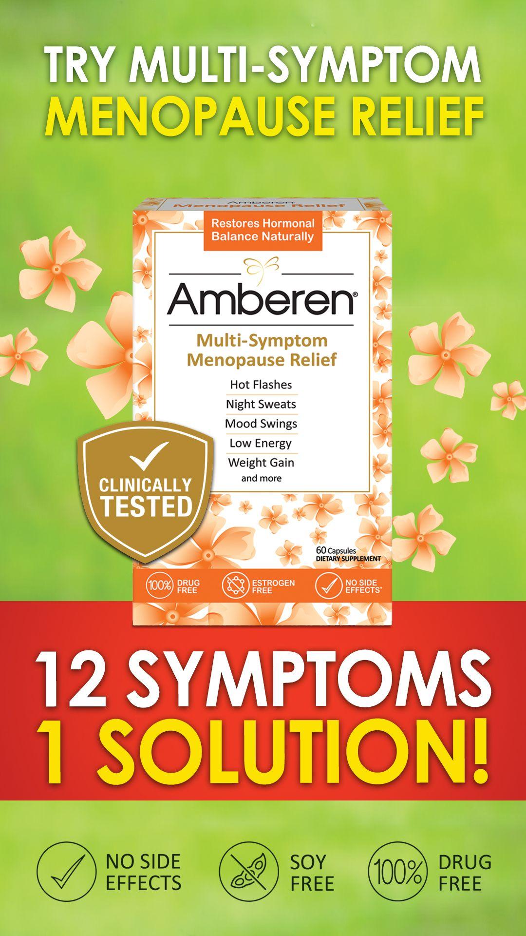 Get 10 Walmart Coupon For Amberen Menopause Relief