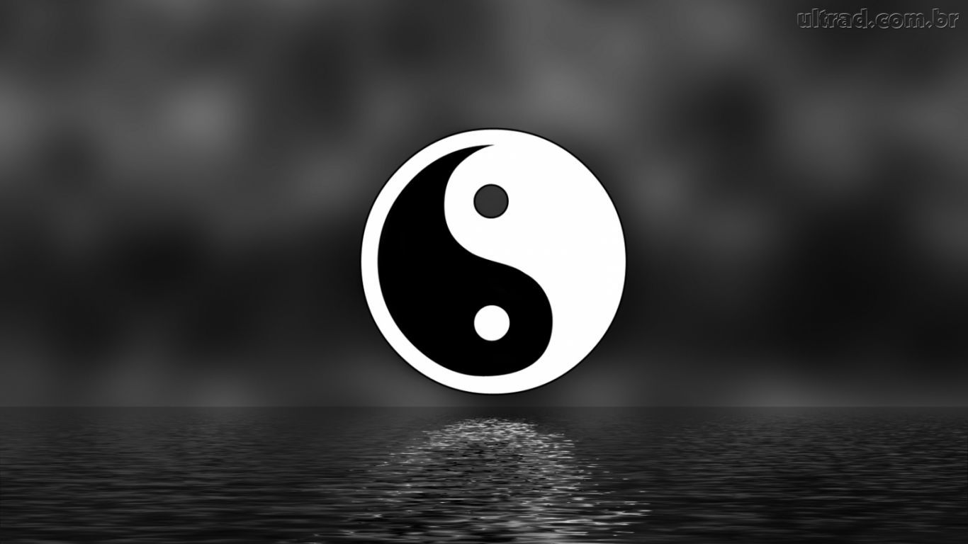 Tumblr iphone wallpaper yin yang - Wallpapers Ying Yang 1366x768