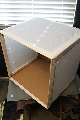 DIY Photography Light Box For Under $25 & DIY: Photography Light Box For Under $25 | Photography lighting and ...