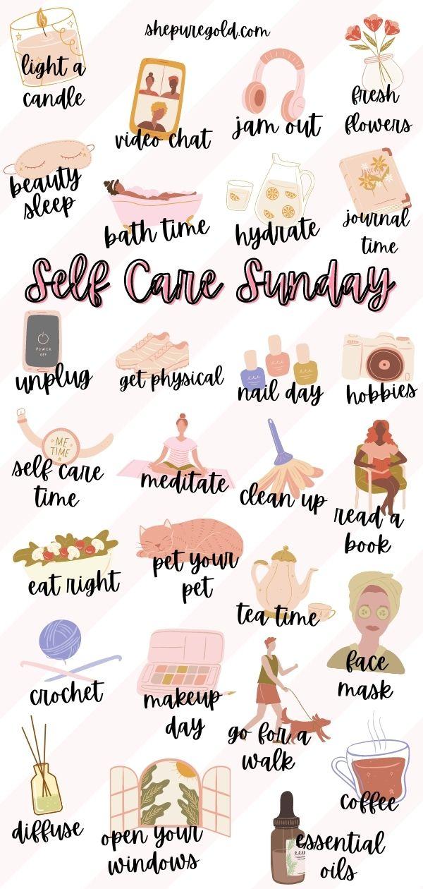 101 Refreshing Self Care Sunday Ideas