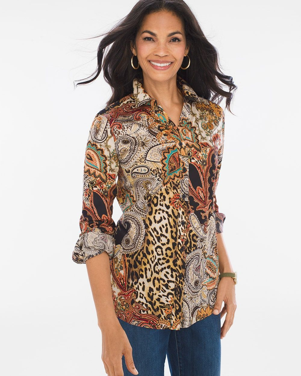 Sateen Paisley Caroline Shirt Products Shirts Paisley Clothes