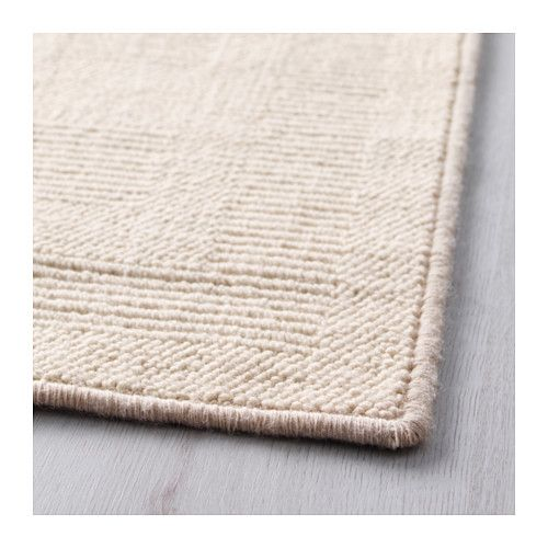 Ikea Adum Rug Light Brown Pink: Wool, Piles And Living Rooms